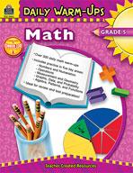 Daily Warm-Ups: Math: Grade 5 (Enhanced eBook)