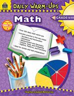 Daily Warm-Ups: Math: Grade 6 (Enhanced eBook)