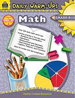 Daily Warm-Ups: Math Grade 8 (eBook)