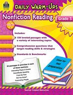 Daily Warm-Ups: Nonfiction Reading (Grades 5)