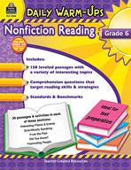 Daily Warm-Ups: Nonfiction Reading (Grades 6) [Enhanced eBook]