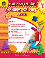 Daily Warm-Ups: Problem Solving Math: Grade 1