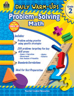Daily Warm-Ups: Problem Solving Math: Grade 2 (Enhanced eBook)
