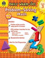 Daily Warm-Ups: Problem Solving Math: Grade 3