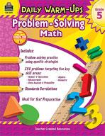 Daily Warm-Ups: Problem Solving Math: Grade 5 (Enhanced eBook)
