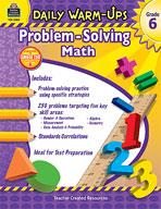 Daily Warm-Ups: Problem Solving Math: Grade 6 (Enhanced eBook)