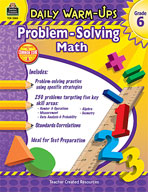 Daily Warm-Ups: Problem Solving Math: Grade 6 (Enhanced eBook)