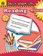 Daily Warm-Ups: Reading: Grade 1 (Enhanced eBook)