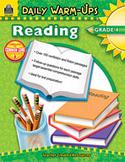Daily Warm-Ups: Reading: Grade 4 (Enhanced eBook)
