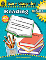 Daily Warm-Ups: Reading Grade 7 (eBook)