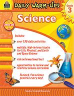 Daily Warm-Ups: Science Grade 3 (Enhanced eBook)