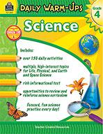 Daily Warm-Ups: Science Grade 4 (Enhanced eBook)
