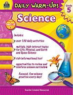 Daily Warm-Ups: Science Grade 5 (eBook)