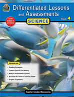 Differentiated Lessons and Assessments: Science: Grade 4 (Enhanced eBook)