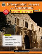 Differentiated Lessons and Assessments: Social Studies: Grade 4 (Enhanced eBook)