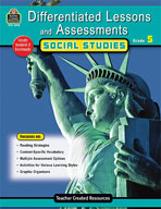 Differentiated Lessons and Assessments: Social Studies: Grade 5 (Enhanced eBook)