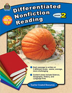 Differentiated Nonfiction Reading Grade 2 (Enhanced eBook)