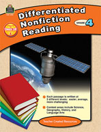 Differentiated Nonfiction Reading Grade 4 (Enhanced eBook)