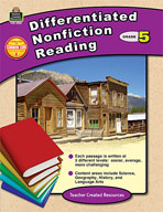 Differentiated Nonfiction Reading Grade 5 (Enhanced eBook)