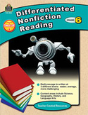Differentiated Nonfiction Reading Grade 6 (Enhanced eBook)