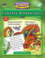 Discovering Genres: Fantasy and Folktales (Enhanced eBook)