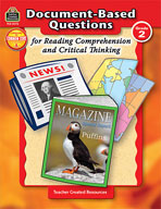 Document-Based Questions for Reading Comprehension and Critical Thinking: Grade 2 (Enhanced eBook)