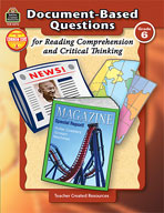 Document-Based Questions for Reading Comprehension and Critical Thinking: Grade 6 (Enhanced eBook)