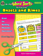 Dr. Fry's Word Sorts: Working with Onsets and Rimes (Enhanced eBook)