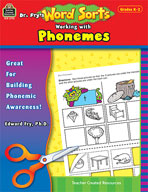 Dr. Fry's Word Sorts: Working with Phonemes (Enhanced eBook)