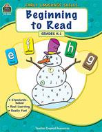 Early Language Skills: Begining to Read (Enhanced eBook)