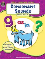 Early Language Skills: Consonant Sounds (Enhanced eBook)