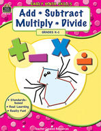 Early Math Skills: Add-Subtract-Multiply-Divide (Enhanced eBook)