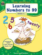 Early Math Skills: Learning Nummbers to 99 (Enhanced eBook)