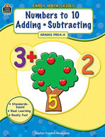 Early Math Skills: Numbers to 10-Adding-Subtracting (Enhanced eBook)