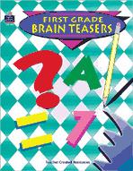First: Grade Brain Teasers (Enhanced eBook)