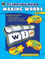 Flipping Over Making Words: Grade 1 (Enhanced eBook)