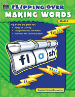 Flipping Over Making Words: Grade 2 (Enhanced eBook)