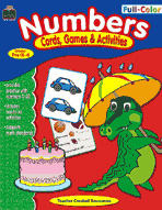 Full-Color Cards, Games & Activities: Numbers
