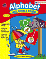 Full-Color Cards, Games and Activities: Alphabet (Enhanced eBook)