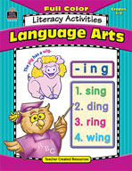 Full-Color Language Arts Literacy Activities