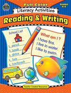 Full-Color Literacy Activities: Reading and Writing (Enhanced eBook)