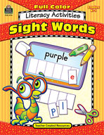 Full-Color Literacy Activities: Sight Words (Enhanced eBook)