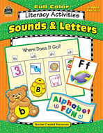 Full-Color Literacy Activities: Sounds and Letters (Enhanced eBook)