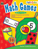 Full-Color Math Games (Enhanced eBook)