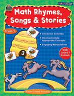Full-Color Math Rhymes, Songs and Stories (Enhanced eBook)