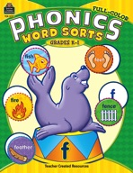 Full-Color Phonics Word Sorts (Enhanced eBook)