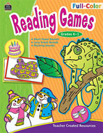Full-Color Reading Games, Grades K-1
