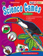 Full-Color Science Games: Grades 1-2 (Enhanced eBook)