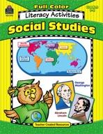 Full-Color Social Studies Literacy Activities (Enhanced eBook)