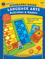 Full-Color Standards-Based Language Arts Activities and Games (Enhanced eBook)